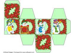 All in One Gift Box - Noel Snowmen 3