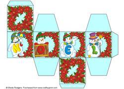 All in One Gift Box - Noel Snowmen 4