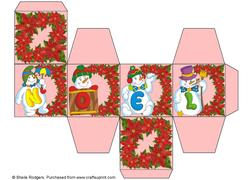 All in One Gift Box - Noel Snowmen 5