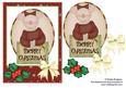Christmas Mouse Oval 1
