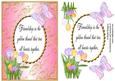 Friendship Spring Flowers Card 3