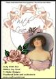 Ribbon Top Card - Lady with Hat