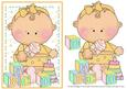 Building Blocks - Curly Baby Girl