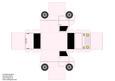 Model Van - Plain Pastel Pink