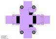 Model Van - Plain Lilac