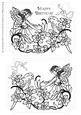 Two Digi Stamps - Fairy and Bird