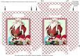 Gift Bag - Santa, Elves and Penguin