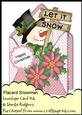 Envelope Card Kit - Placard Snowman