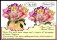 Flower Vase 2 - Mixed Roses