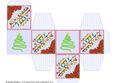 All in One Gift Box - Snowmen and Poinsettias