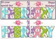 Day of the Year Birthday - Female February 1