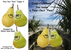 "Congratulations You Make a Pear-fect ""pear"" 2"