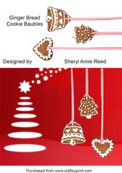 Gingerbread Cookie Baubles