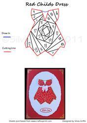 Red Child's Dress