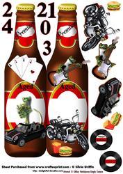 Beer Bottle Teenage Birthday Dl