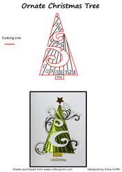 Very Ornate Christmas Tree If