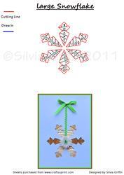 Large Snowflake If