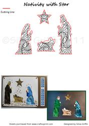 Nativity with Star If