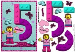 Building Block 5th Birthday Qs