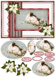 Christmas Love Birds Pyramid