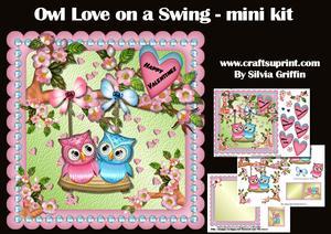 Owl Love on a Swing Mk