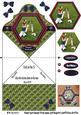 Cricket Folded Card