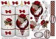 Red Roses and Shoes Candle