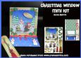 Christmas Window Easel Card with Bookmark Mk