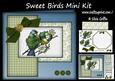 Sweet Blue Birds - Happy Bird-day Mk