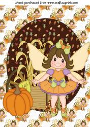 Thanksgiving Fairy Topper 2