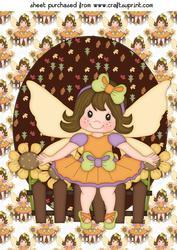 Thanksgiving Fairy Topper 3