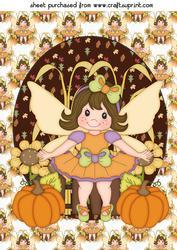 Thanksgiving Fairy Topper 4