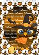 Halloween Owl Topper 3