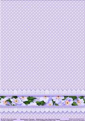 Matching Backing Paper for Sentiment Panels Lilac