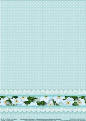 Matching Backing Paper for Sentiment Panels Aqua
