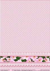 Matching Backing Paper for Sentiment Panels Pink
