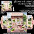 3D Room with a View Kit - the Flower Shop