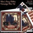 Men?s Navy Clothes 8in x 8in Decoupage Mini Kit