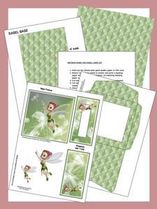 Forest Fairy Easel Card Kit