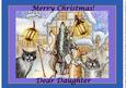 Carol Singers - Howls & Yowls Merry Christmas! Dear Daughter
