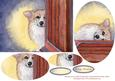 Missing You So Much (corgi Dog) Oval Pyramage