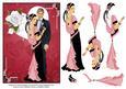 Art Deco Valentine Lovers