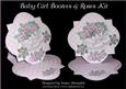 Baby Girl Bootees & Roses Kit