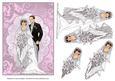 Wedding Day Lace & Scrolls