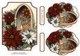 Vintage Christmas Plaques #3