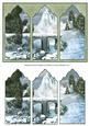 Snowy Mountains Triptych