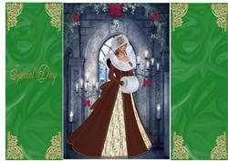 Beautiful Christmas Bride 2