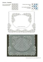 Victoria - Freestyle Parchment Card