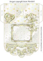 Printable Wedding Gift Envelope : Gift Envelope/money WalletRosesfor Wedding/birthdayCUP173088 ...