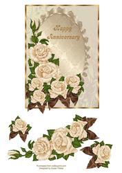 Elegant Anniversary Rose